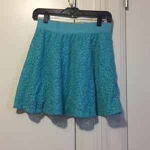 Teal skirt